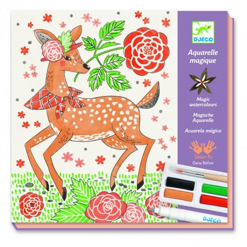 Djeco Magic Watercolours Dandy of the Woods
