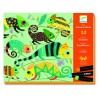 Djeco Oil Pastels Workshop - Coloured Jungle