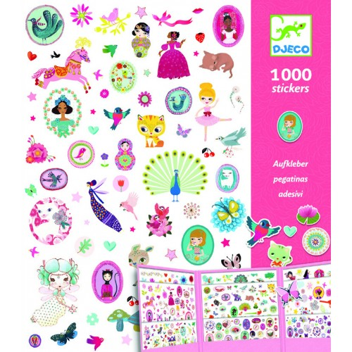 Djeco 1000 Pretty Stickers