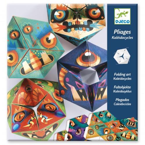 Djeco Kaleidocycles Flexmonsters Paper Art