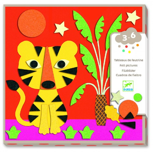 Djeco Sweet Nature Felt Pictures