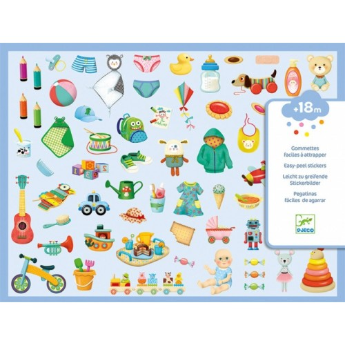 Djeco My Little World Stickers