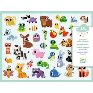 Djeco Baby Animals Stickers