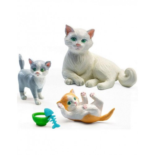 Djeco Cat Figures