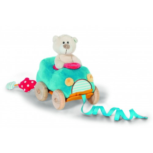 NICI Pull Along Bear