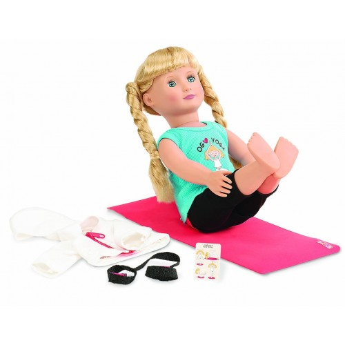 Our Generation Ommm My Way Doll Yoga Outfit Uk