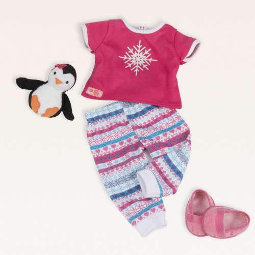 Our Generation Snow Adorable Doll PJs