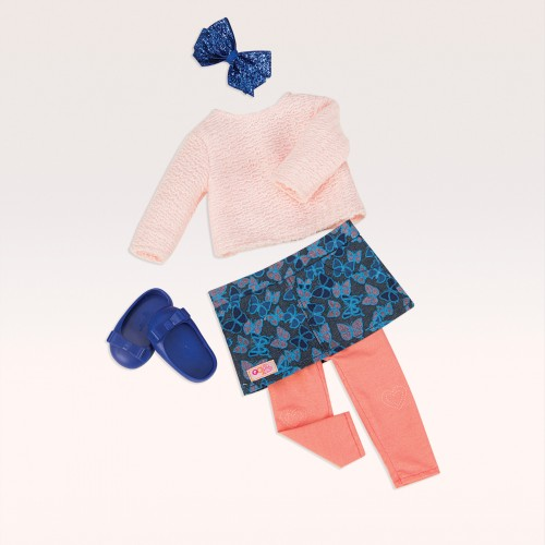 Our Generation Fashionably Fluttery Doll Outfit