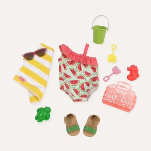 Our Generation Slice of Fun Doll Swimming Set
