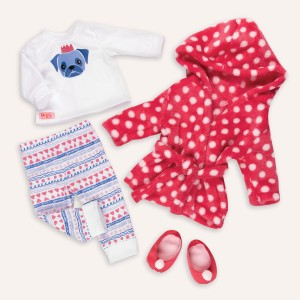 Our Generation Snuggle Up Doll Clothing Set