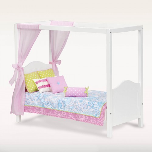 Our Generation My Sweet Canopy Doll Bed