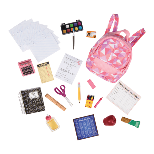 Our Generation Off To School Accessory Set