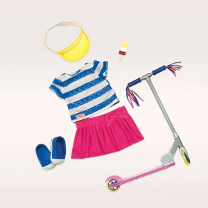 Our Generation Deluxe Cute To Scoot Doll Outfit