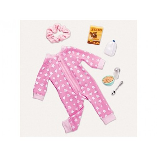 Our Generation Onesies Funzies Doll Sleepwear