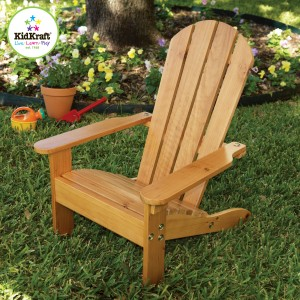 Kidkraft Adirondack Solid Wooden Outdoor Chair