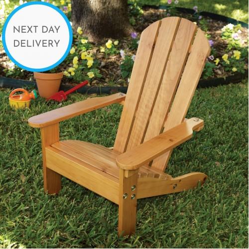 Kidkraft Adirondack Solid Wooden Outdoor Chair