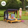 Kidkraft Double Chaise Lounger with Canopy