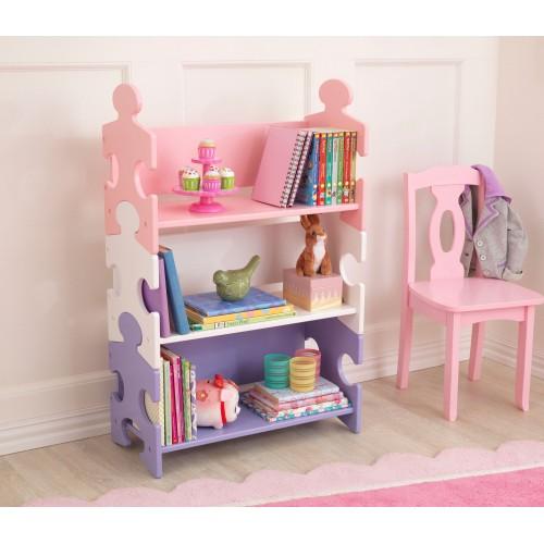 Kidkraft Pastel Puzzle Bookshelf