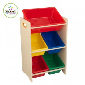 Kidkraft Primary 5 Bin Storage Unit