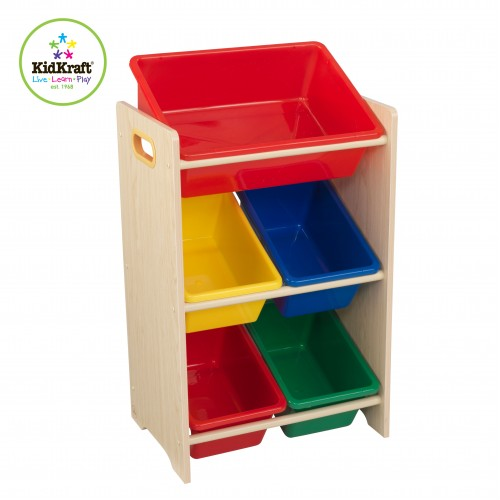 Kidkraft Primary 5 Bin Storage Unit