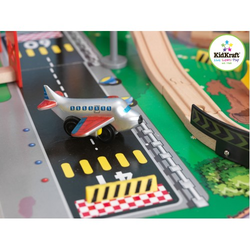 Kidkraft City Explorer S Train Set And Table Wooden