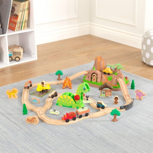Kidkraft Dinosaur Bucket Top Train Set