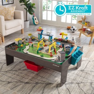 Kidkraft My Own City Vehicle and Activity Table with with EZ Kraft Assembly™