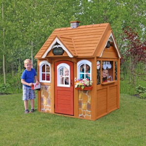 Kidkraft Stoneycreek Cedar Outdoor Playhouse