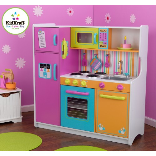 Attrayant Kidkraft Deluxe Big And Bright Kitchen