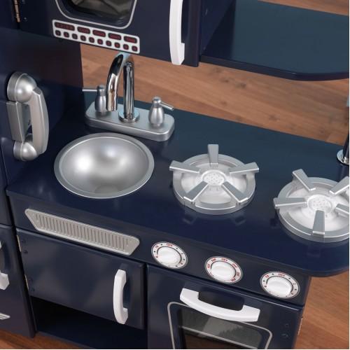 Kidkraft Navy Blue Vintage Kitchen | Wooden Toy Kitchens | Kidkraft