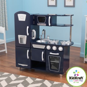 Kidkraft Red Vintage Kitchen Wooden Play Kitchens Uk