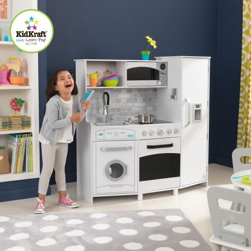Kidkraft Large Play Kitchen With Lights And Sounds Kidkraft Uk