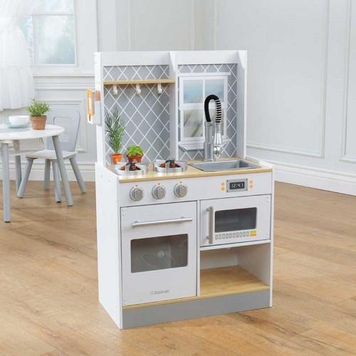 Kidkraft Let S Cook Wooden Play Kitchen