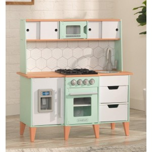 Kidkraft Mid-Century Modern Play Kitchen with EZ Kraft Assembly™