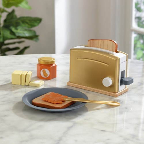Kidkraft Modern Metallics™ Toaster Set