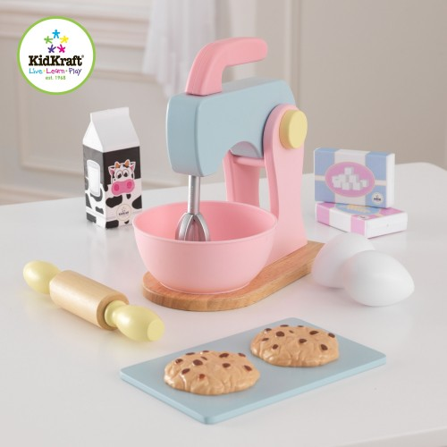 Kidkraft Pastel Wooden baking set