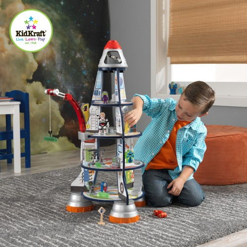 Kidkraft Wooden Space Rocket Ship