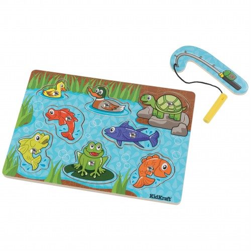 Kidkraft Pond Magnetic Wooden Puzzle
