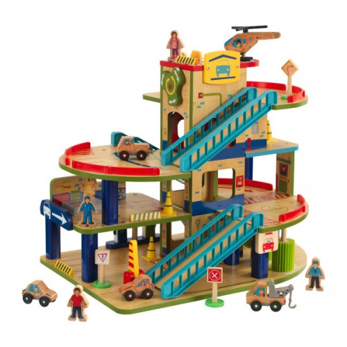 Kidkraft Wash N Go Wooden Car Garage