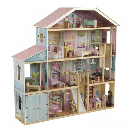 Kidkraft Grand View Mansion Dollhouse with EZ Kraft Assembly™