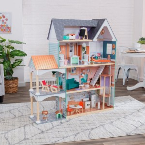 Kidkraft Dahlia Mansion Dollhouse with EZ Kraft Assembly™