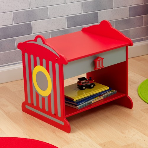 Kidkraft Firetruck Toddler Bedside Table