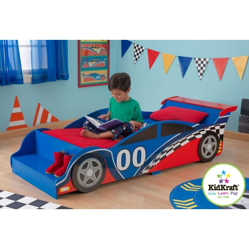 Kidkraft Racing Car Toddler Bed