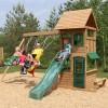 Kidkraft Windale Wooden Swing and Slide Playset