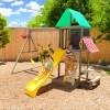 Kidkraft Newport Wooden Swing Set Playset