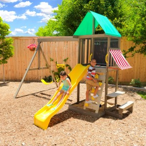 Kidkraft Newport Wooden Swing Set Playset