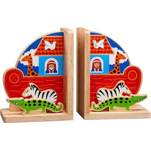 Lanka Kade Noah's Ark Wooden Bookends