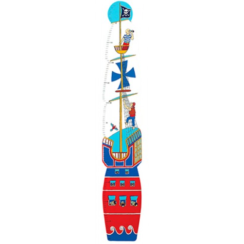 Lanka Kade Wooden height chart- Pirate
