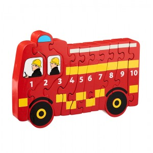 Lanka Kade Fire Engine 1-10 Number Jigsaw