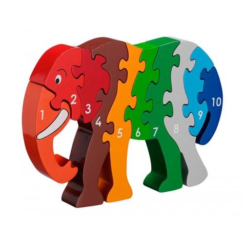 Lanka Kade Elephant Number Puzzle 1-10